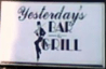 Yesterday's Bar  Grill