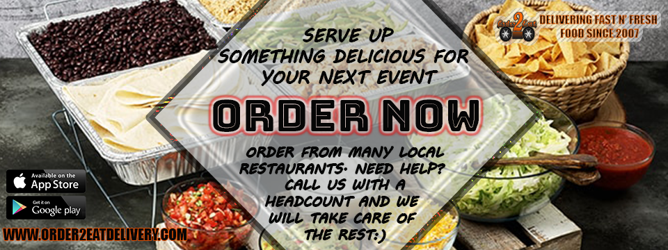 Order2Eat Delivery catering